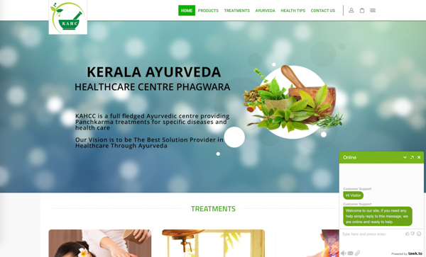The Kerala Ayurveda Healthcare Centre